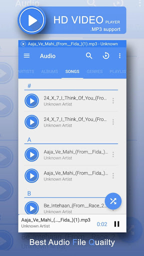 Free download 3GP/MP4/AVI HD Video Player APK for Android