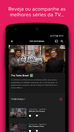 Download Globosat Play: Programas de TV for android 4 4 4