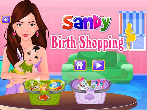Sandy Birth Shopping Games