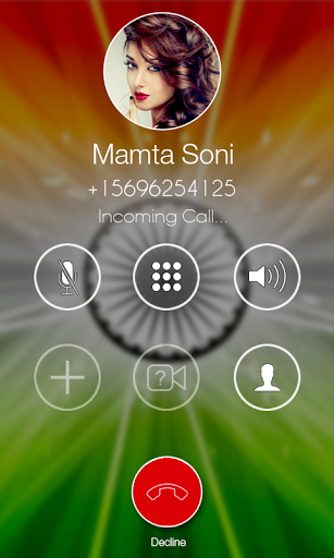 i Caller Screen - Indian Theme
