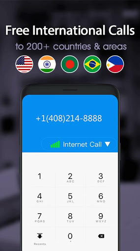 Download Free phone calls, free texting SMS on free number