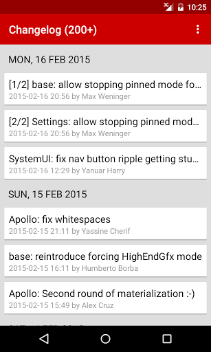 Free download OmniROM Changelog APK for Android