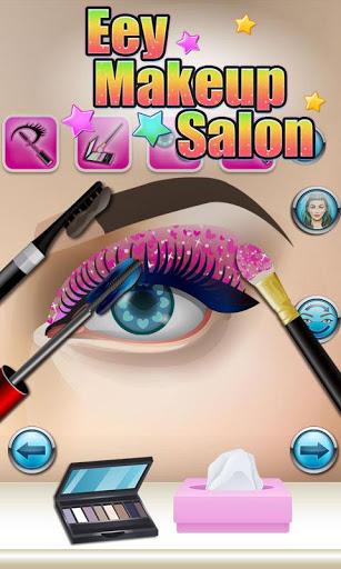 Eyes Makeup Salon - kids games