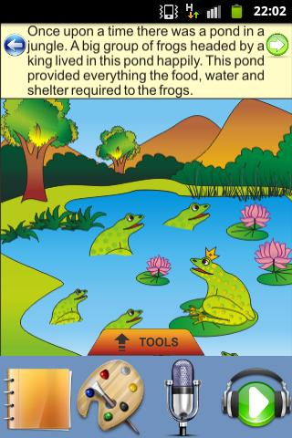 Frogs and a Snake - Kids Story