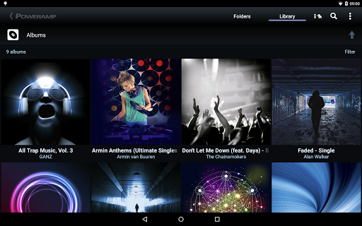 Free download Poweramp Music Player (Trial) APK for Android