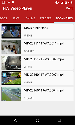 Download FLV Video Player for android 2 3 6