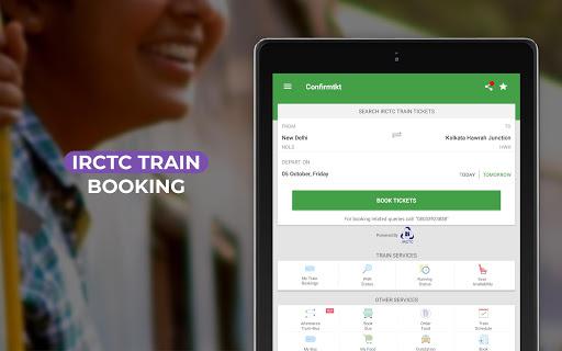 ConfirmTkt Indian Rail Train Status & PNR Status