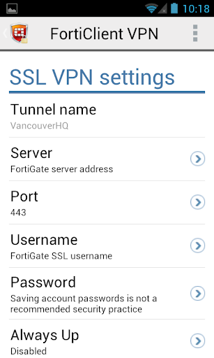 Download FortiClient VPN for android 6 0 1