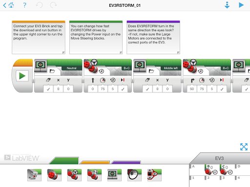Download LEGO® MINDSTORMS® Programmer for android 1 6