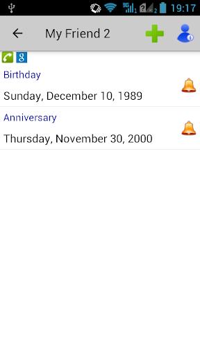 Birthdays & Other Events