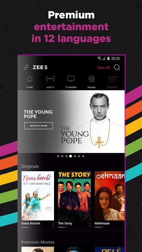 Download OZEE Free TV Shows Movie Music for android 4 3