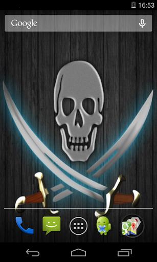 Flag of Pirates Live Wallpaper