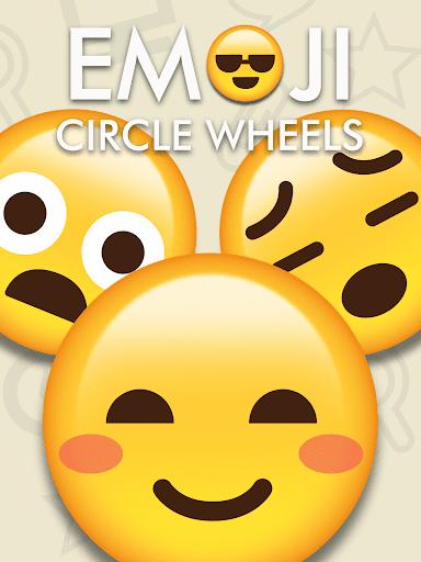 Emoji Circle Wheels : Go Shrug