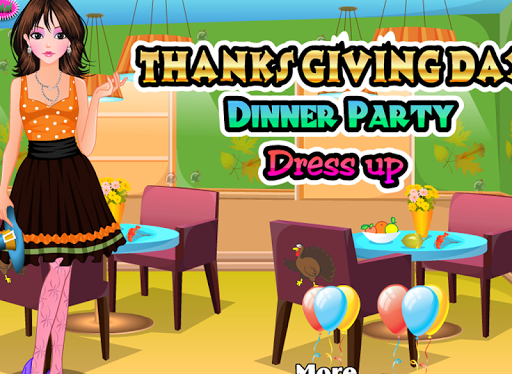 Dress up for Thanksgiving day