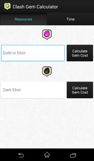 Clash Gem Calculator