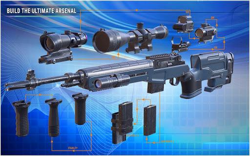desert sniper shooting