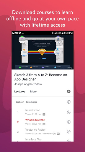 Download Udemy Online Courses for android 4 2 2