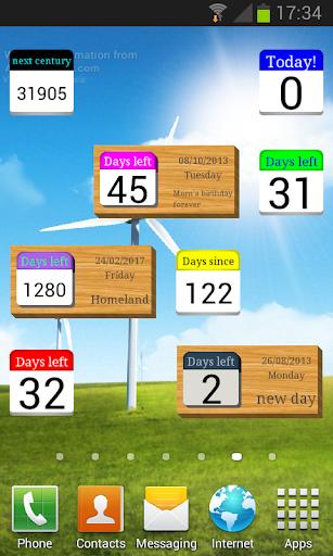 Days Left (countdown timer)