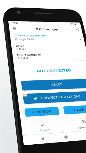 Download DNS Changer (no root 3G/WiFi) for android 4 2 2