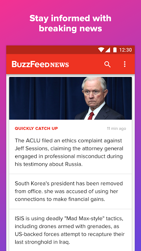 Free download BuzzFeed: News, Tasty, Quizzes APK for Android
