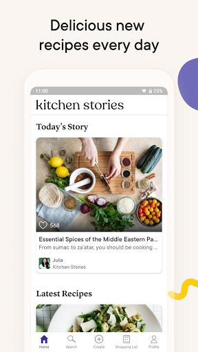 Kitchen Stories - recipes, baking, healthy cooking