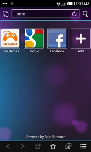 ICS Boat Browser Mini Theme