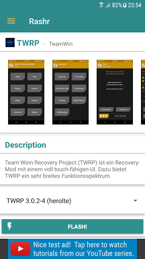 Download [ROOT] Rashr - Flash Tool for android 5 1 1