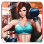 icon Real 3D Woman Boxing