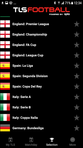 Free download TLS Soccer - Top Live Stats APK for Android