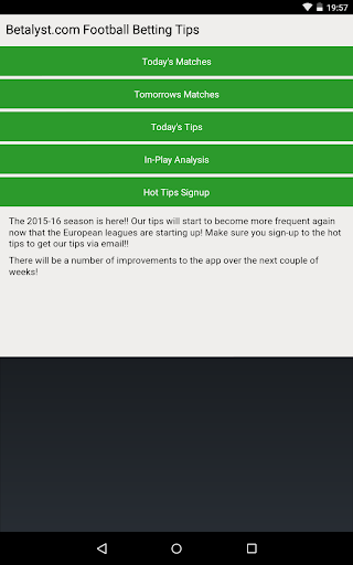 Free download Betalyst Football Betting Tips APK for Android