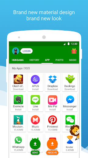 Download Xender - File Transfer & Share for android 8 0