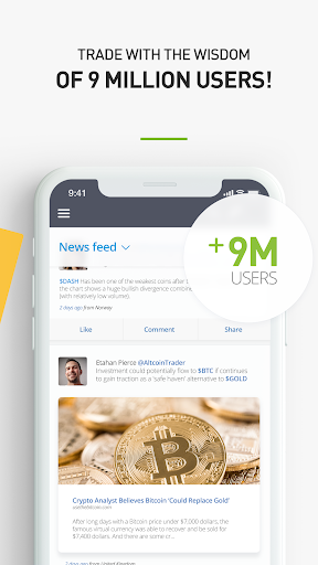 Download eToro - Social Trading for android 5 0 2