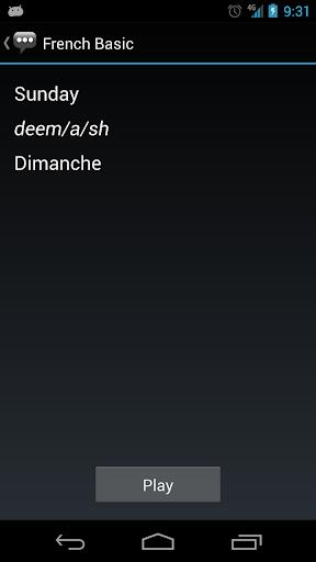 French Basic Phrases - Works offline