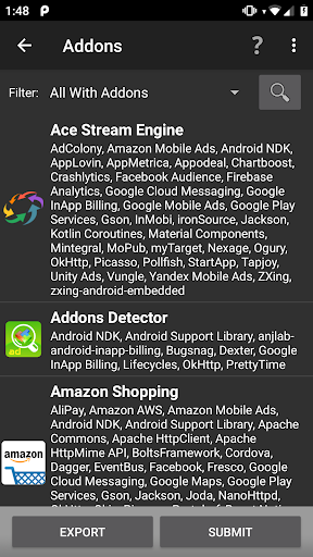 Download Addons Detector for android 2 3 5
