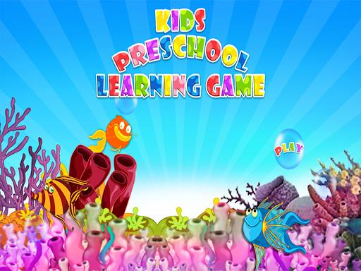 Kids PreSchool Learning Game
