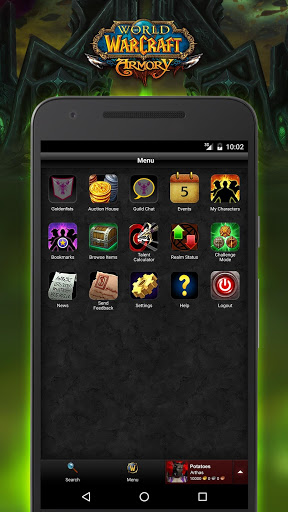 Download World of Warcraft Armory for android 4 4 4