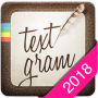 icon Textgram - write on photos