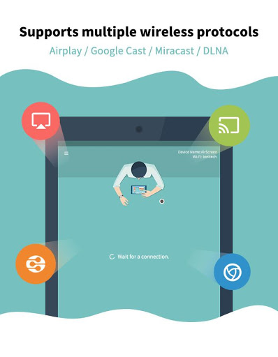 Free download AirScreen - AirPlay & Miracast APK for Android