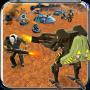 icon Robot War Futuristic Warrior