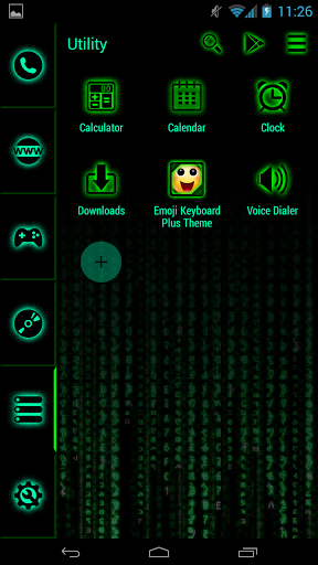 Download Hacker Launcher for android 4 4 3