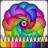 icon Mandalas Ausmalbilder 1.1.4