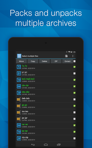 Download B1 Archiver zip rar unzip for android 4 4 3