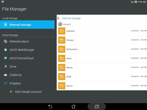 Download File Manager for android 2 2 2
