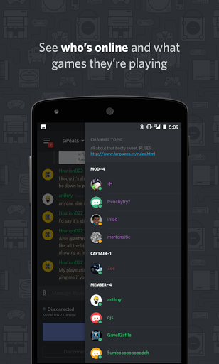 Download Discord - Chat for Gamers for android 4 1 2