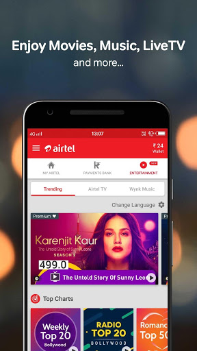Download My Airtel-Recharge, Bill, Bank for android 4 4 4