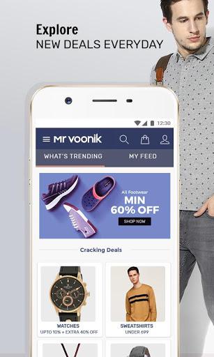 Mr Voonik -Online Shopping Men