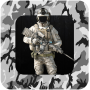 icon Military Photo Montage