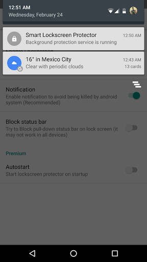 Download Smart Lockscreen protector for android 8 0