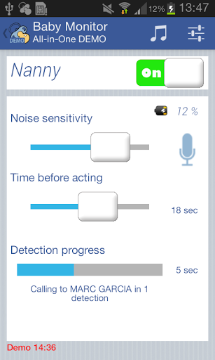Baby Monitor All-In-One DEMO