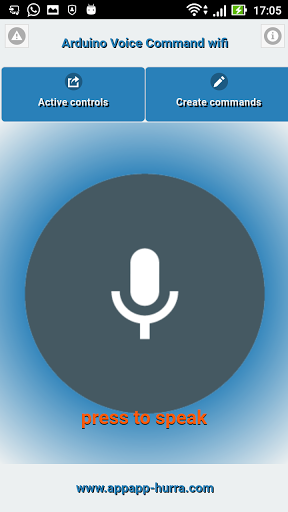 Free download Arduino Voice Command WiFi APK for Android